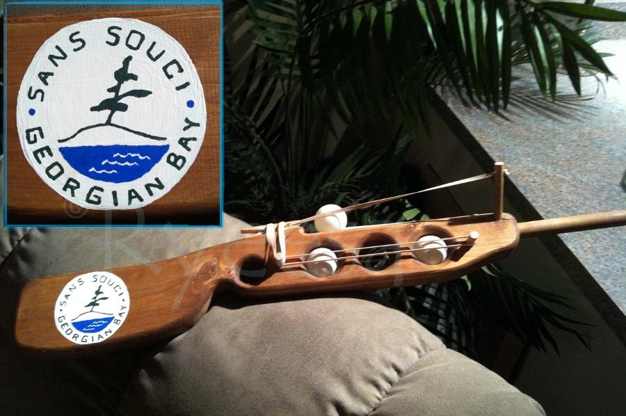 San Souci Pingpong Rifle