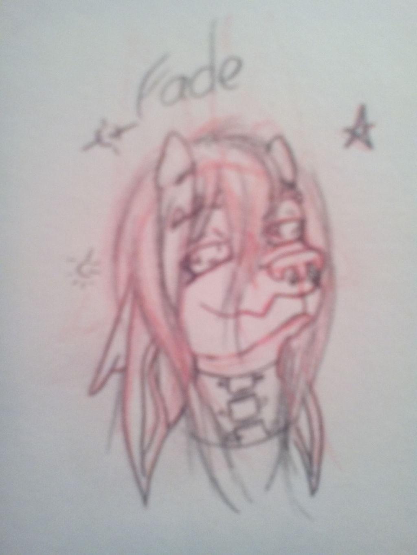 Fade Headshot Sketch