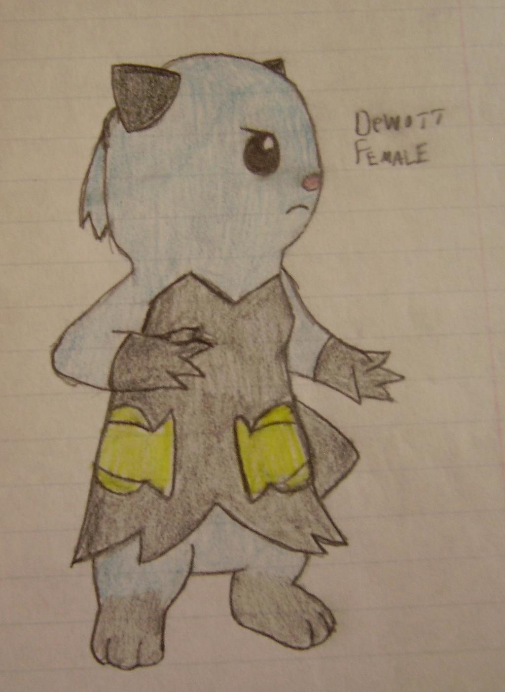 Female Dewott