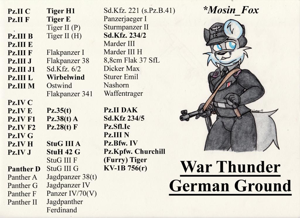 War Thunder German Ground