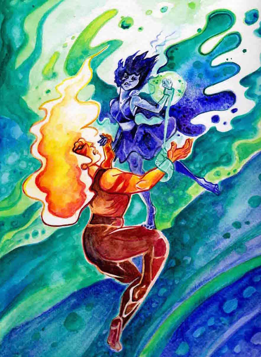 Jasper and Lapis---Drowning Waltz