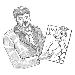 my drawing  doey