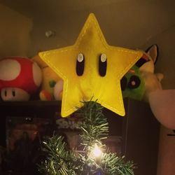 Invincibility Star Tree Topper