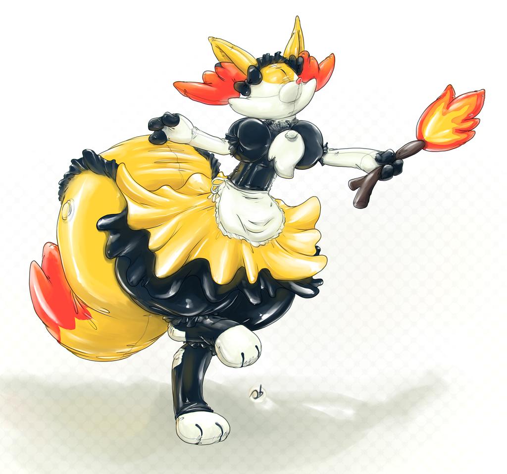 Firefoxy Maid