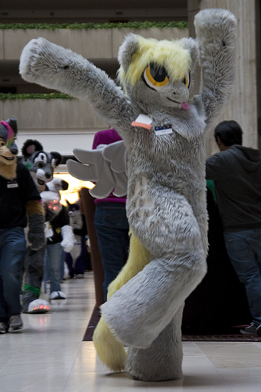 I Throw My Hooves Up in the Air Sometimes