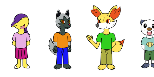My Characters As Childrens
