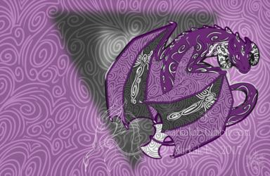 Chibi Lesbian Pride Dragon