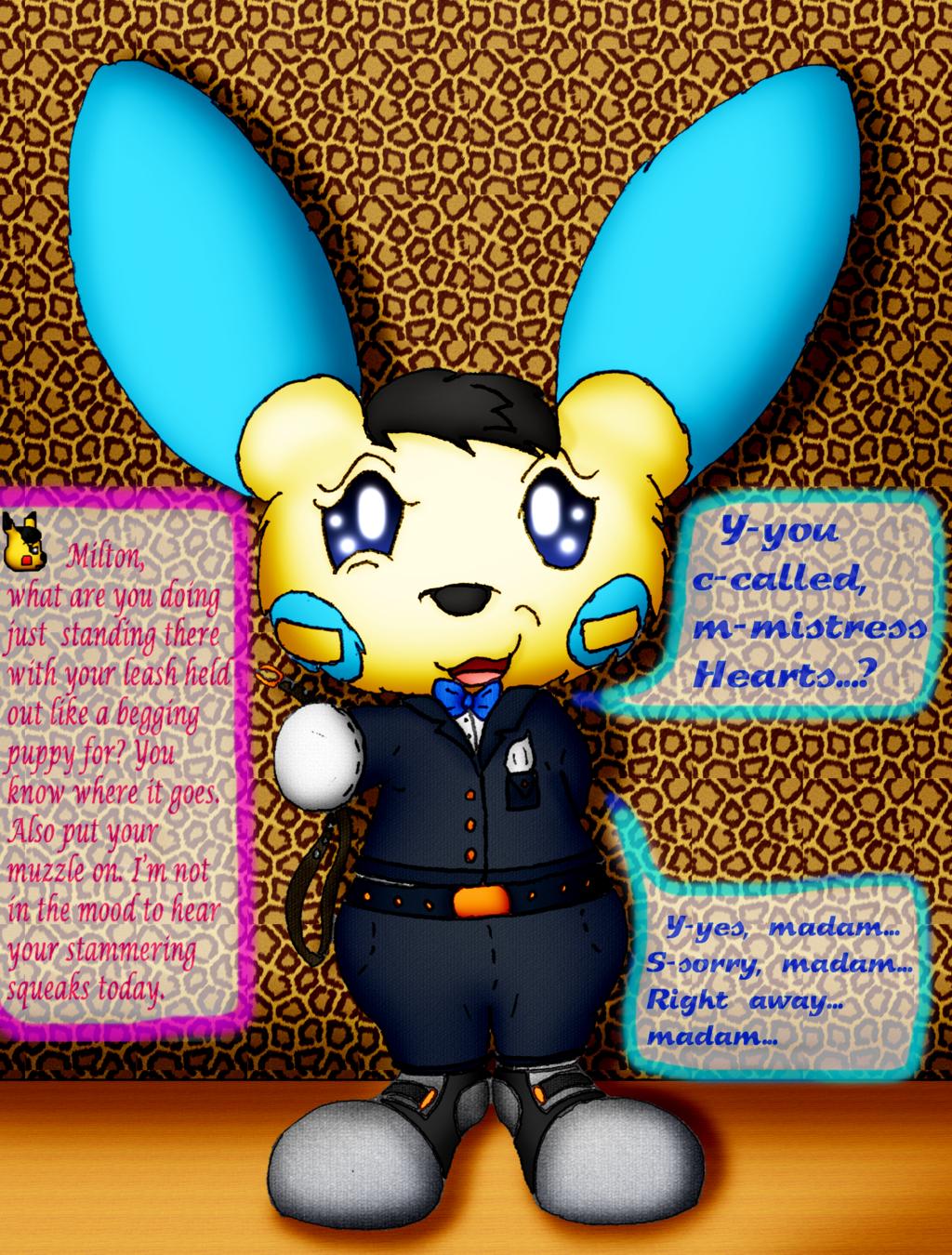 "Milton the Minun (Alice Hearts' ""Assistant."")"