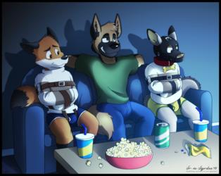 Commission: Movie Night