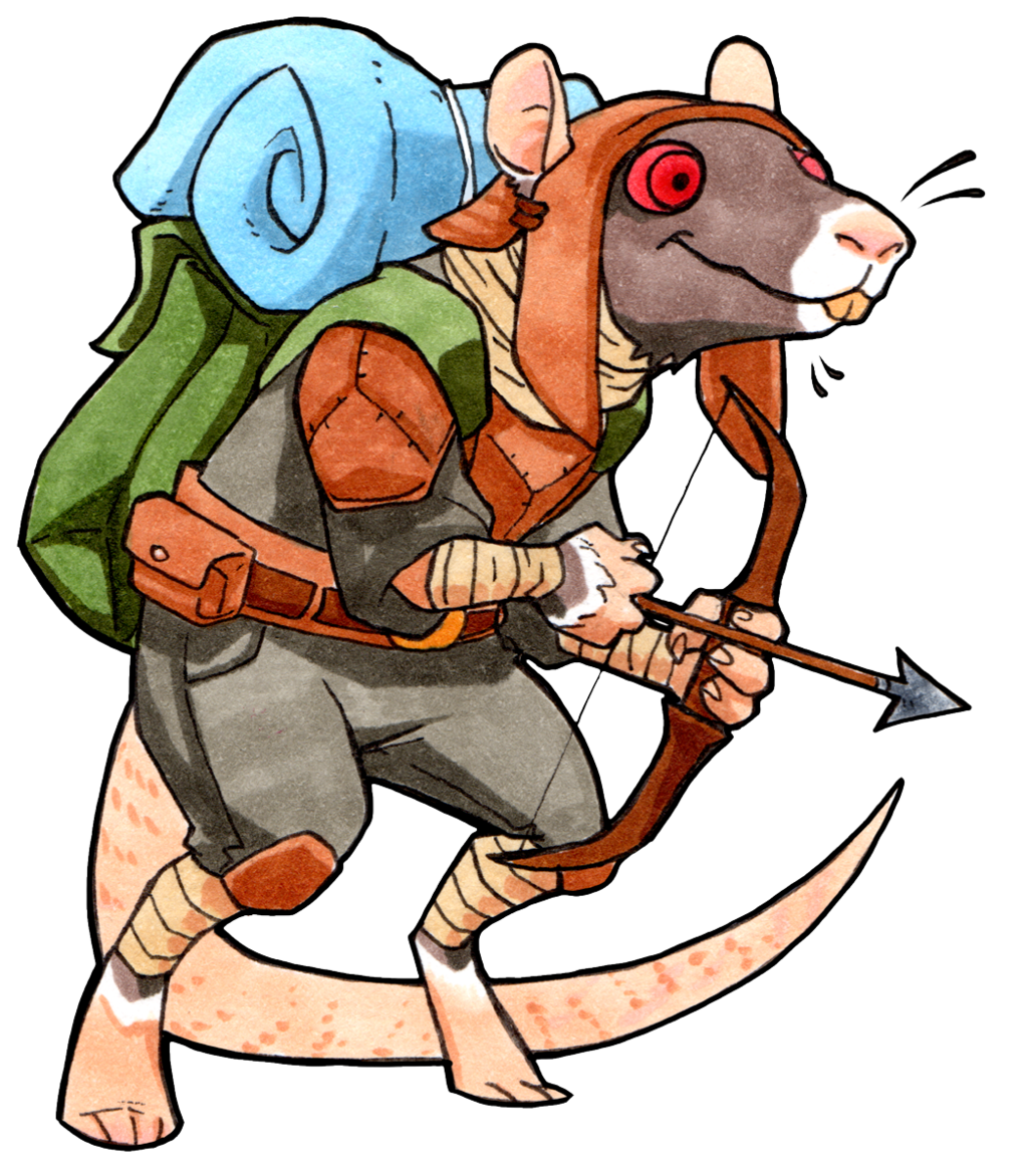 Squidge the Treasure Hunter