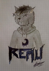 "Remu The Bat [1st part of a ""Art-Trade""]"