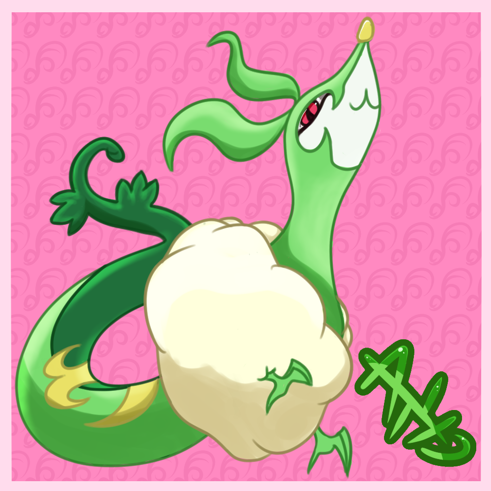 Serria - Regal Cloud Serpent Pokemon