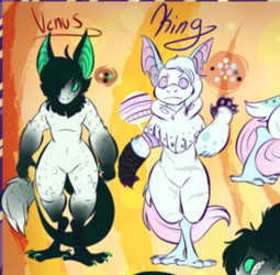 Venus and King Reference [[ Commission ]]