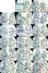 Ferox Sketchbook pt.1 [Commission]