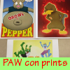 New prints for PAW con!