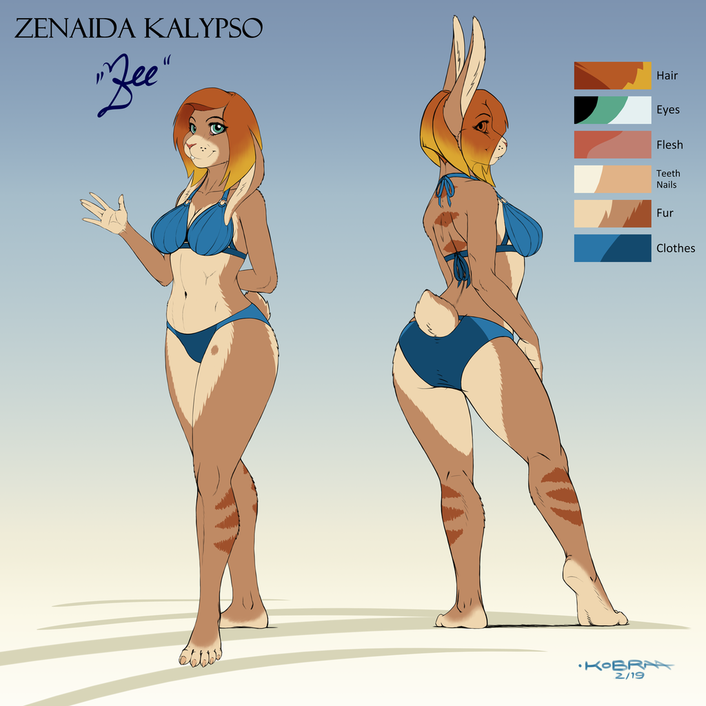 Most recent image: Zee - Basic Ref Sheet