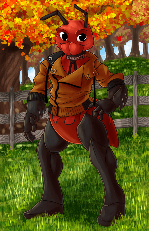 Most recent image: Commission for furrycustodian
