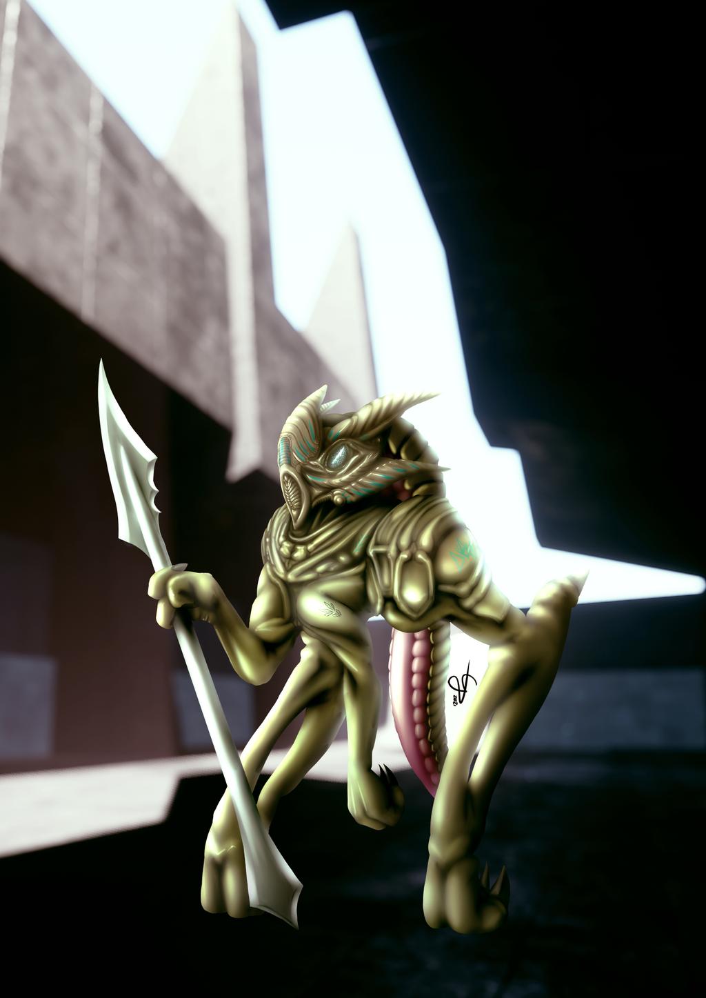 Commission: Skedar Honour Guard