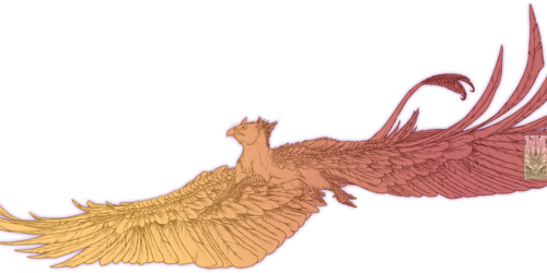Lineart Comish - On Strong Wings