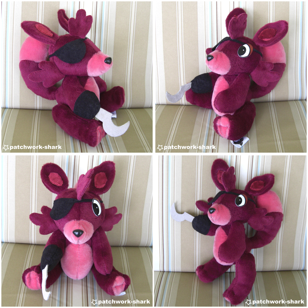 Most recent image: Foxy Plush -FOR SALE-