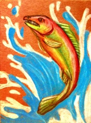 ACEO--Strength That Demands Respect