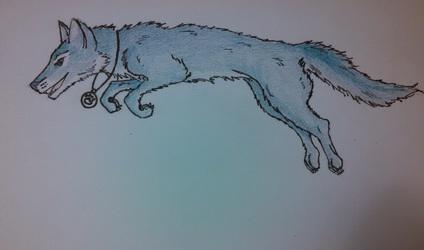 Dusk-wolf