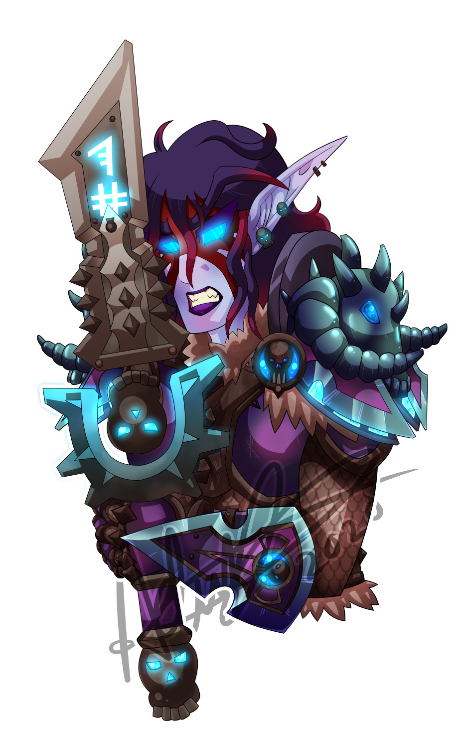Most recent image: Night Elf Deathknight