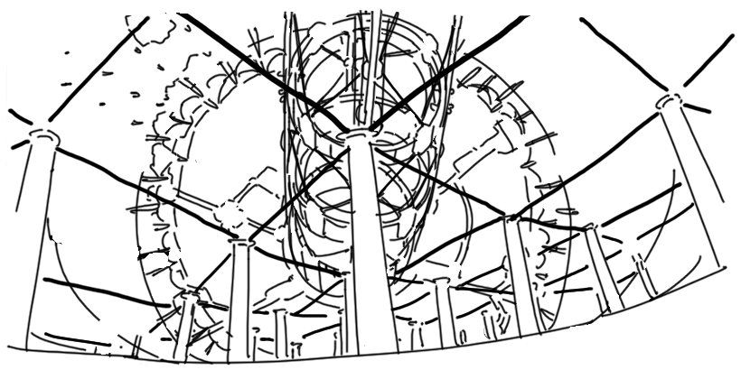 City of Pylons (bare, structural)