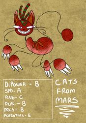 (OC) Cats From Mars