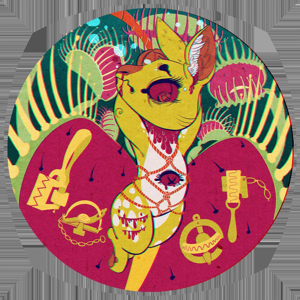 Deer Menko Badge