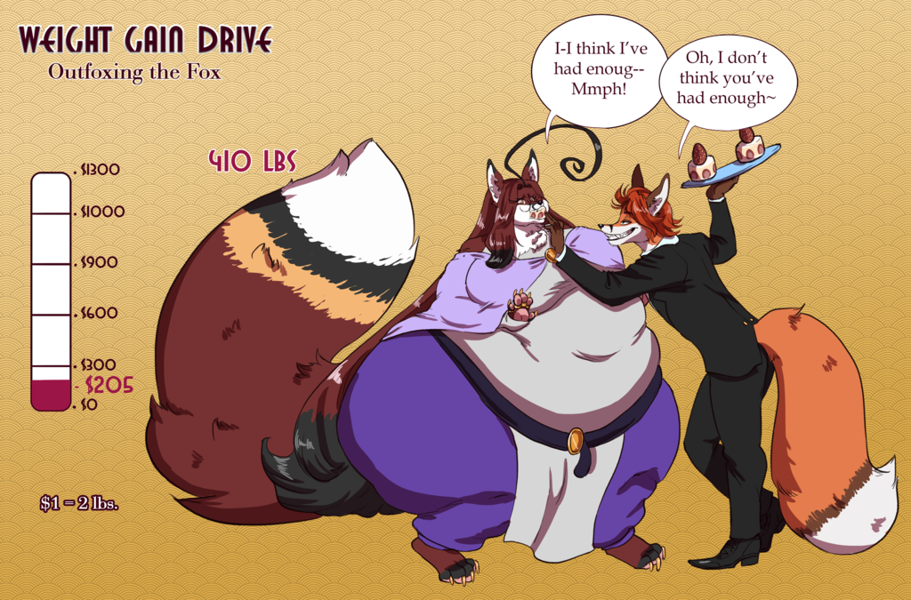 Foxy Weight Gain Drive: 1st Update!