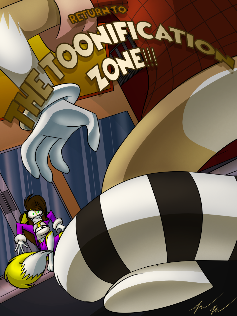 Return to The Toonification Zone, by Julio