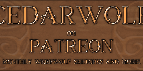 CedarWolf On Patreon!