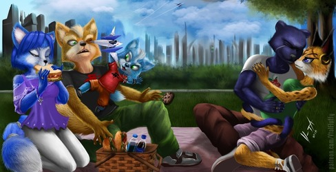 Star Fox Picnic