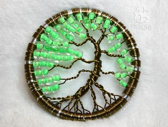 Antique Bronze - Wire Tree