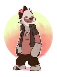 A quick sloth doodle