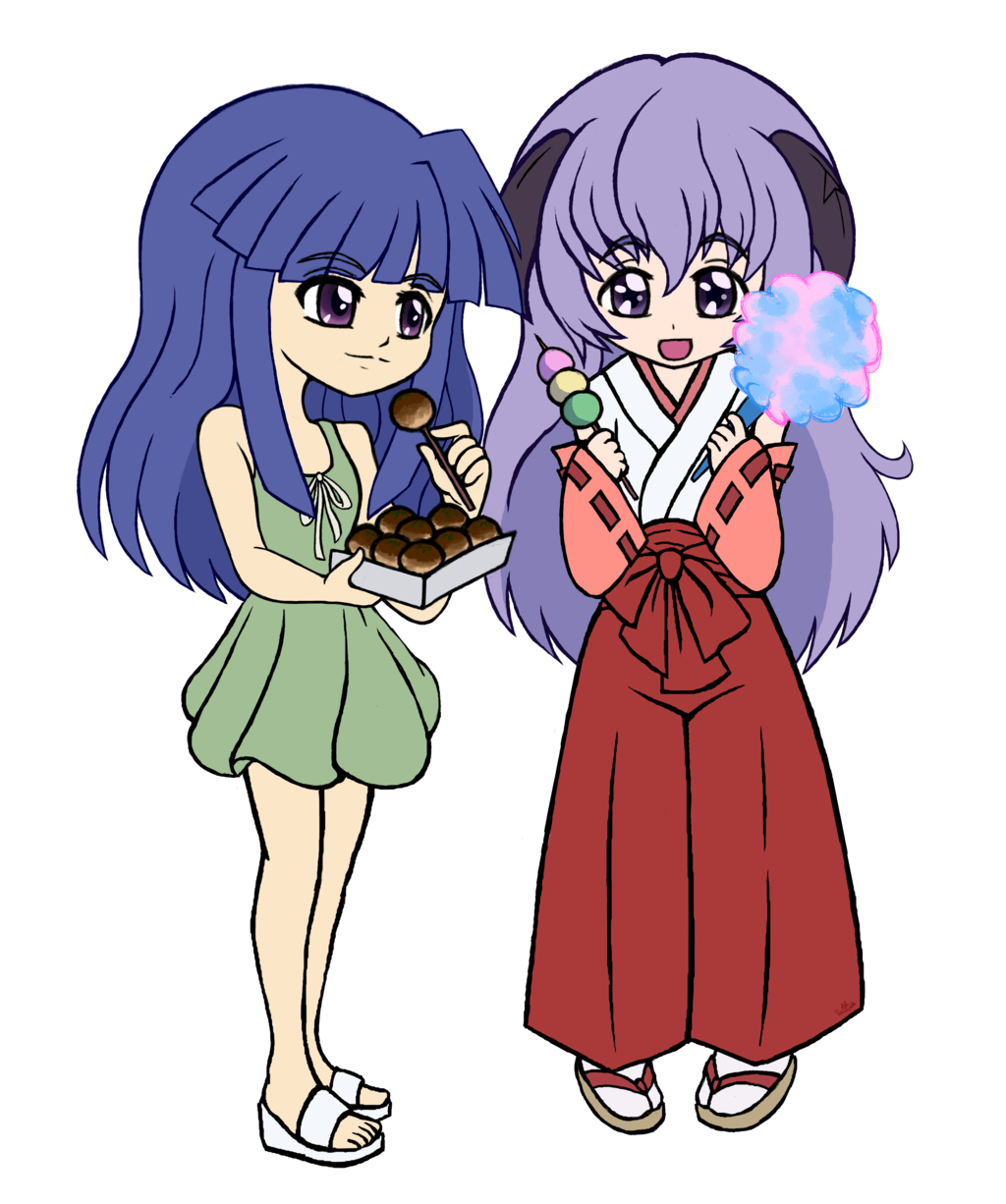Rika and Hanyuu
