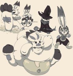 Scorbunny doodles
