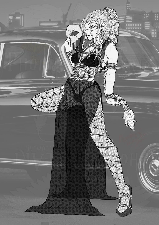 Shibari Meg (DC OC)