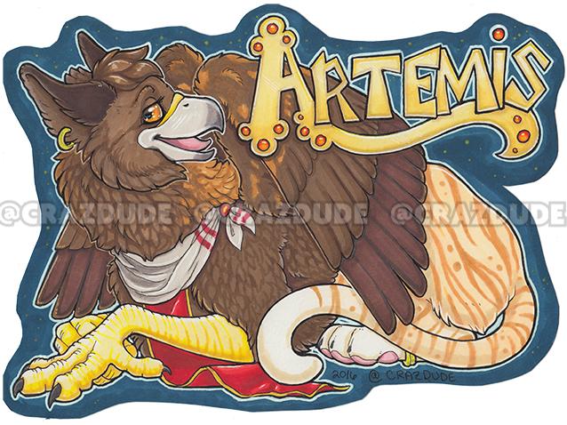 Lvanhound Artemis Badge