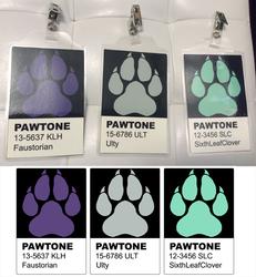 PAWTONE Badges