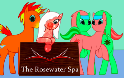 The Rosewater Spa crew