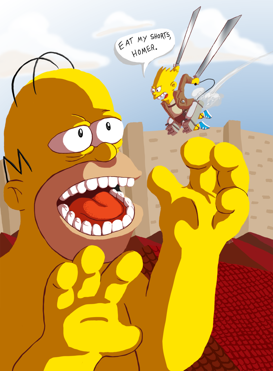 Attack on Homer