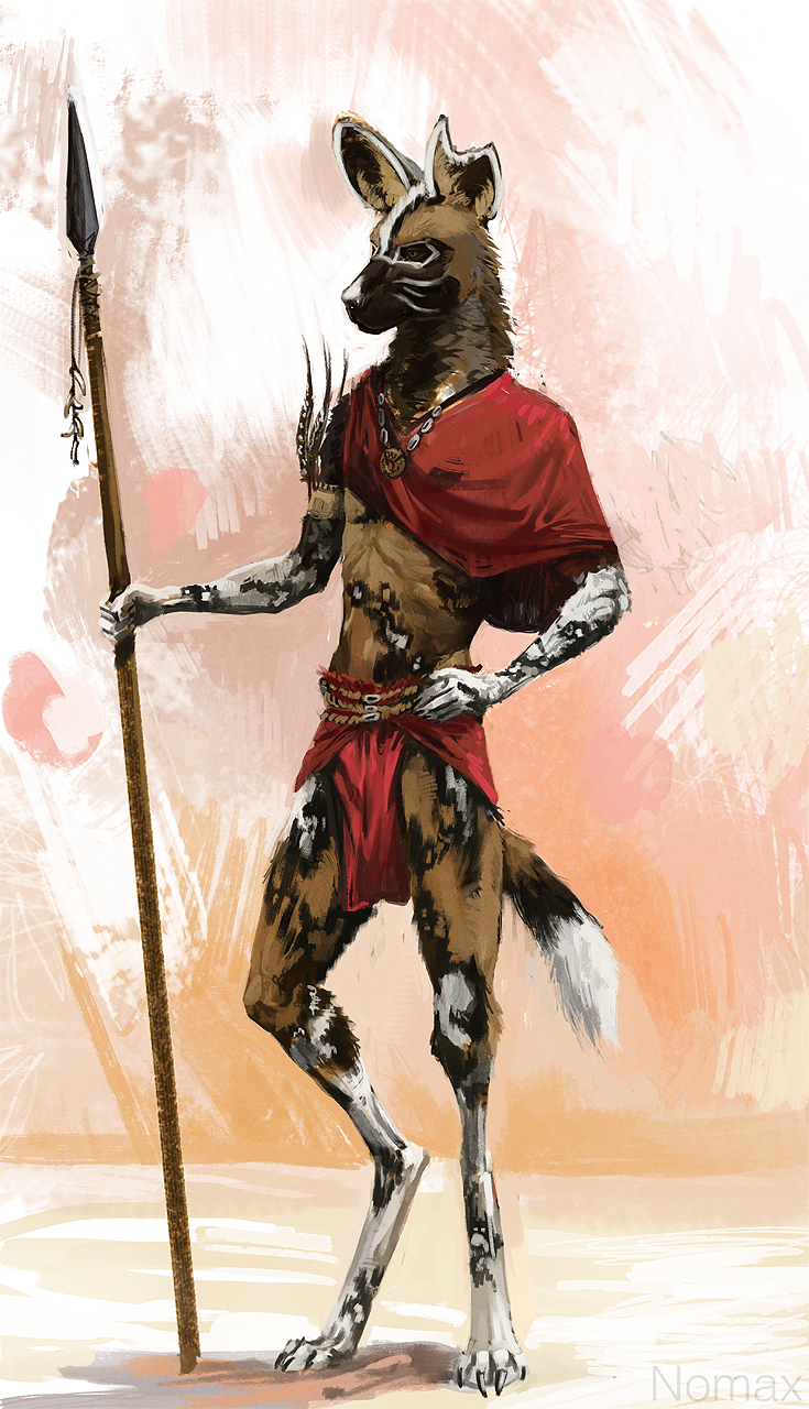 Nomax tribal outfit