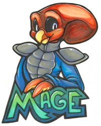 Mage Zootopia Badge (AC 2016)