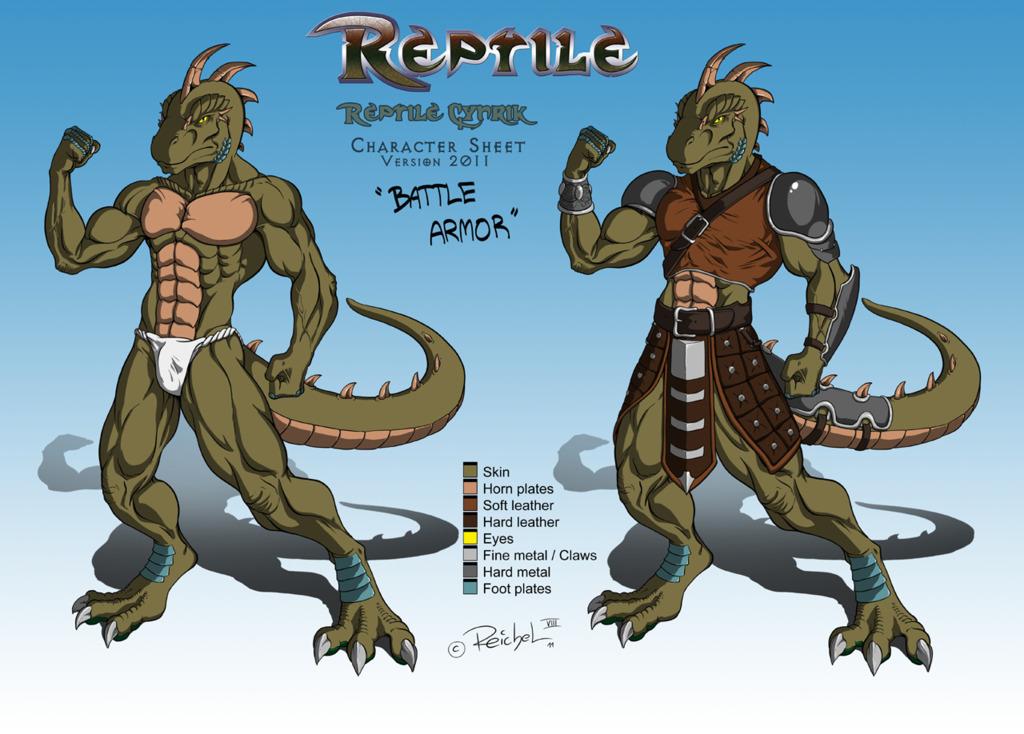 Reptile Cynrik - Character Sheet 2011-12