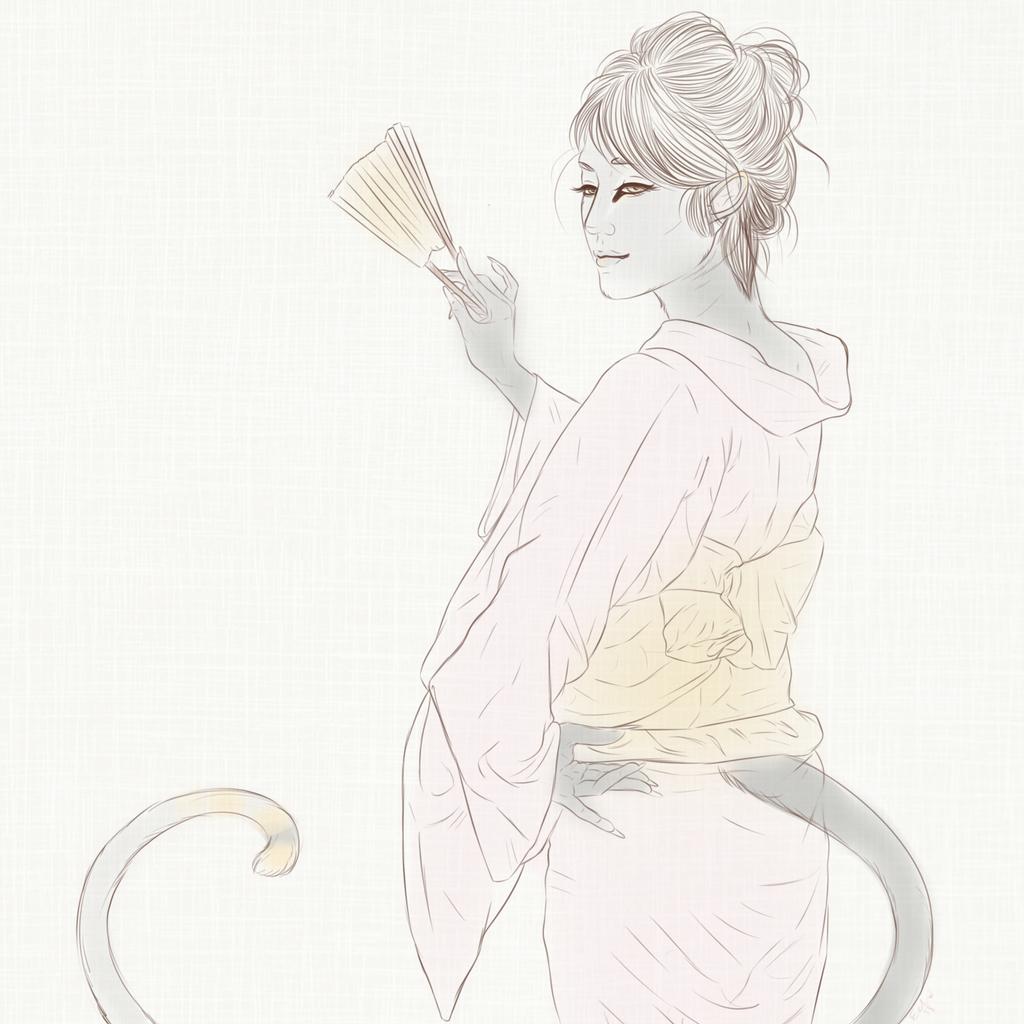 Karasu Dance Sketch - OLD DESIGN