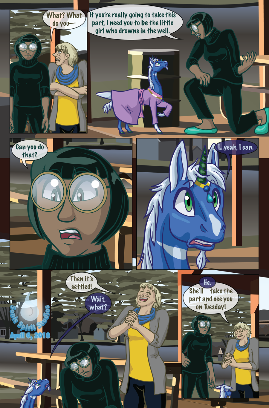 The New Normal - Issue One: Hiding - Page 2