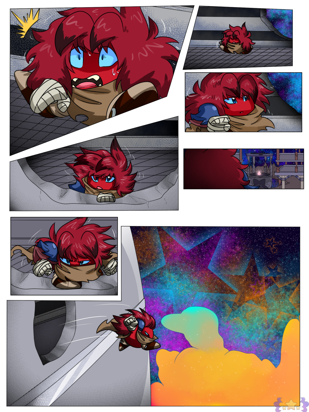 The Nebula Stars Vol. 1 pg. 3