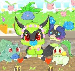 Pokemon Spring Garden's Lil Helper - By Nyogart